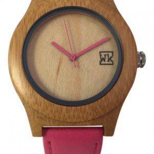 Reloj de bambú para mujer