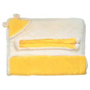 Saco para dormir amarillo 2