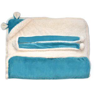 Saco para dormir azul 2