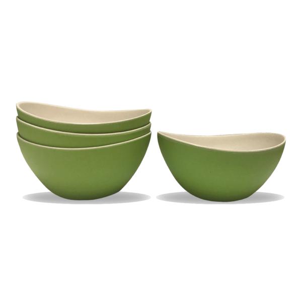 Bowl BiColor de Bambú
