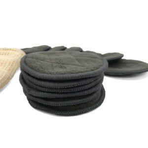 Almohadillas de bambú y carbón activado